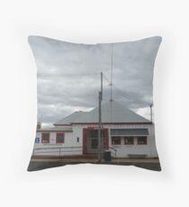 Post Office, Mendooran Throw Pillow