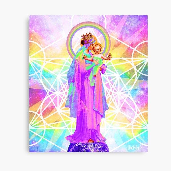 Nuestra Señora de la Geometría Sagrada Lienzo