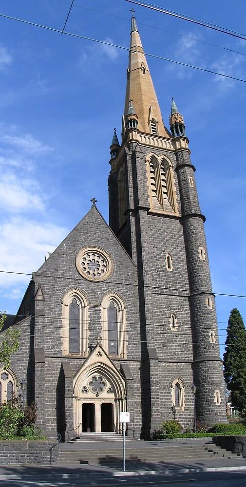 Beautiful Melbourne Church by Throughmyeyes13