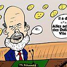 Ben Bernanke caricature by Binary-Options