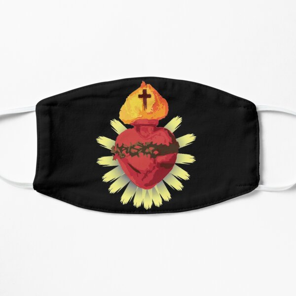 Catholic Sacred Heart Of Jesus Mask