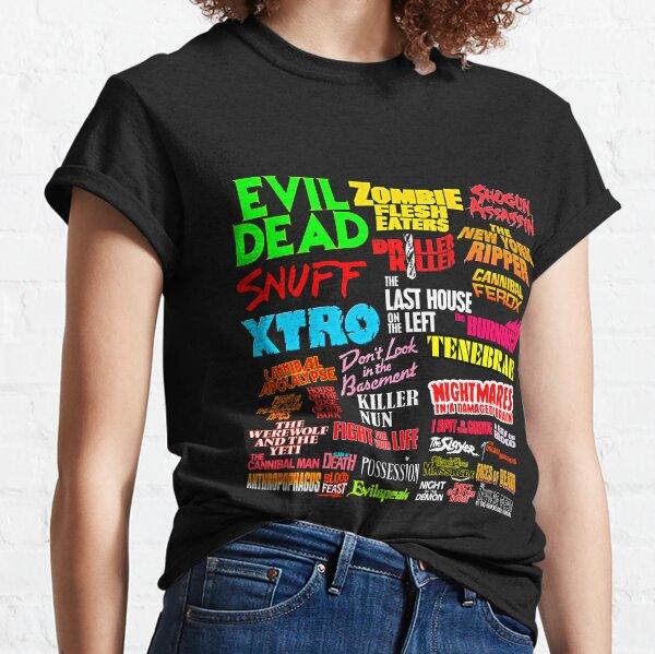 Video Nasties Classic T-Shirt