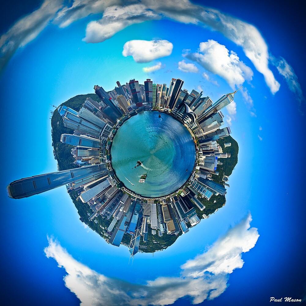 Hong Kong Polar Panoramic by HKart
