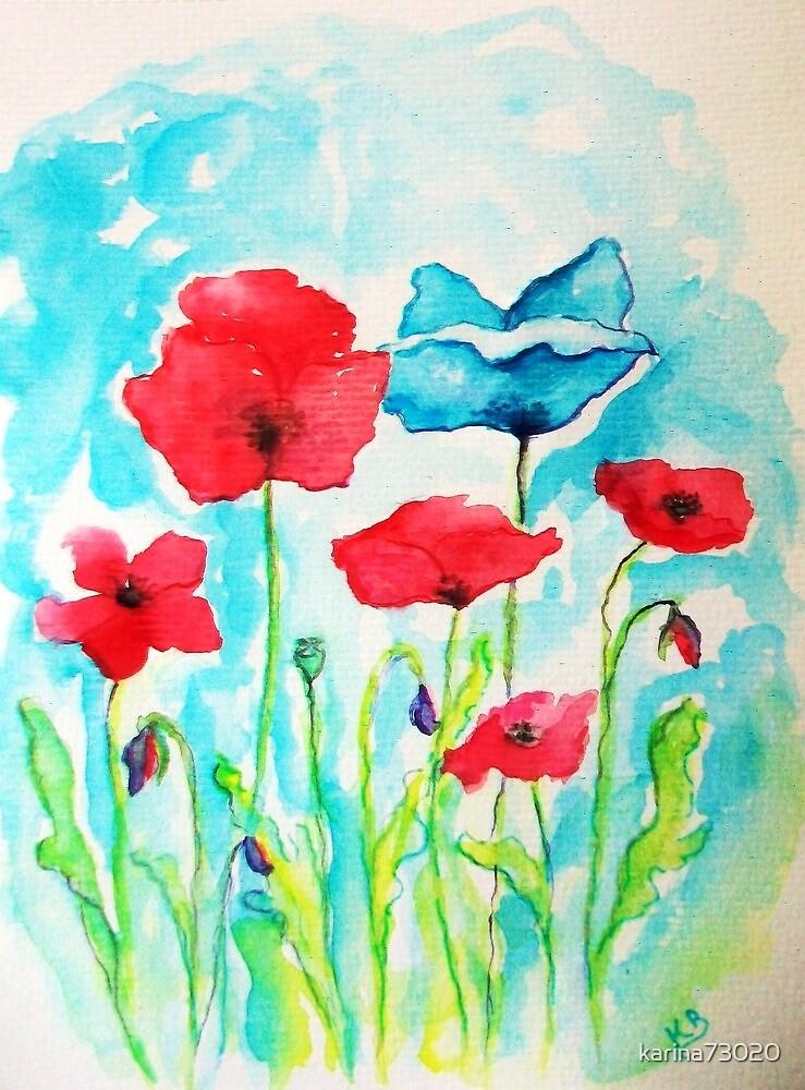 The blue poppy....:) by karina73020