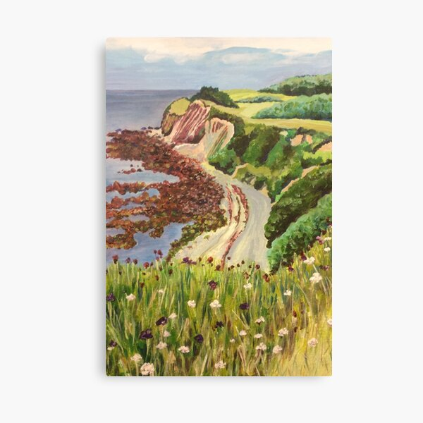 Ventnor Isle of Wight Canvas Print