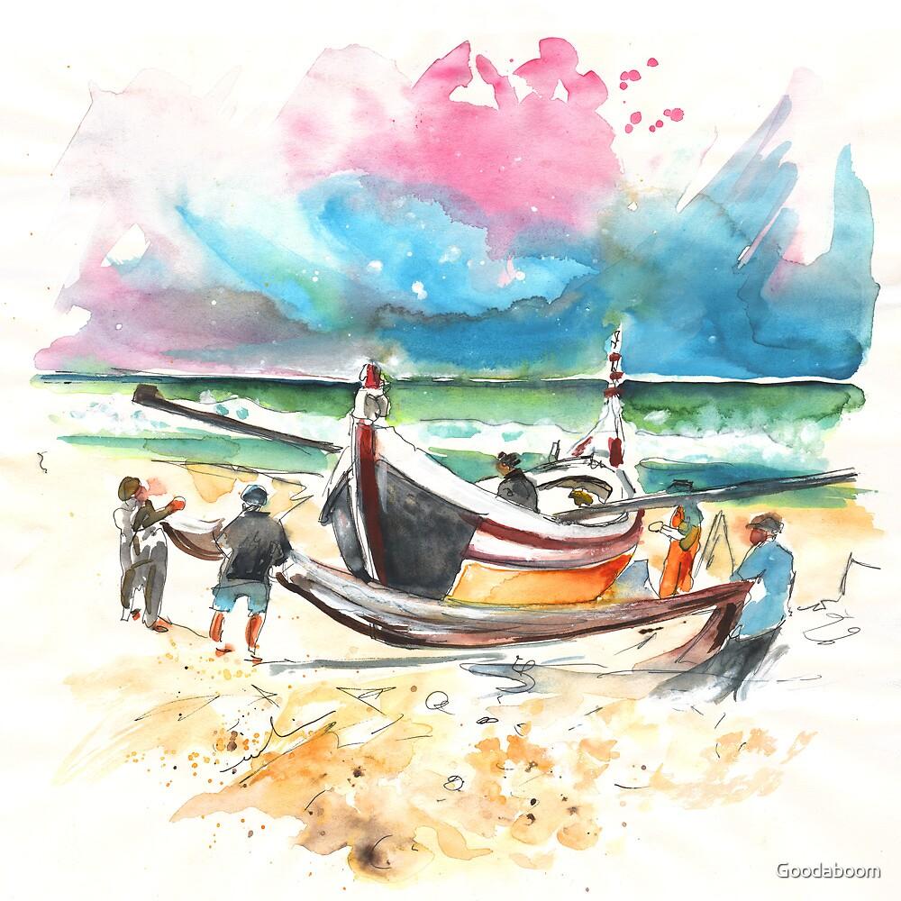 Portugal - Fishermen in Praia de Mira 03 by Goodaboom