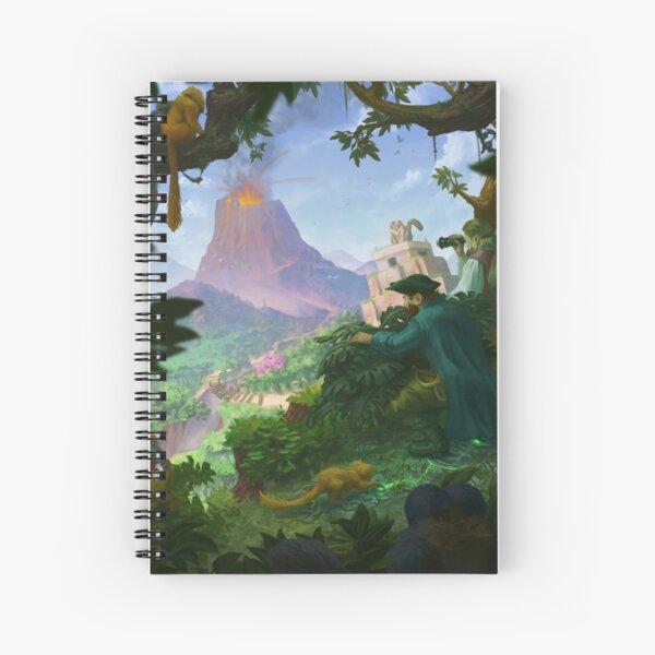 Jungle explorers Spiral Notebook