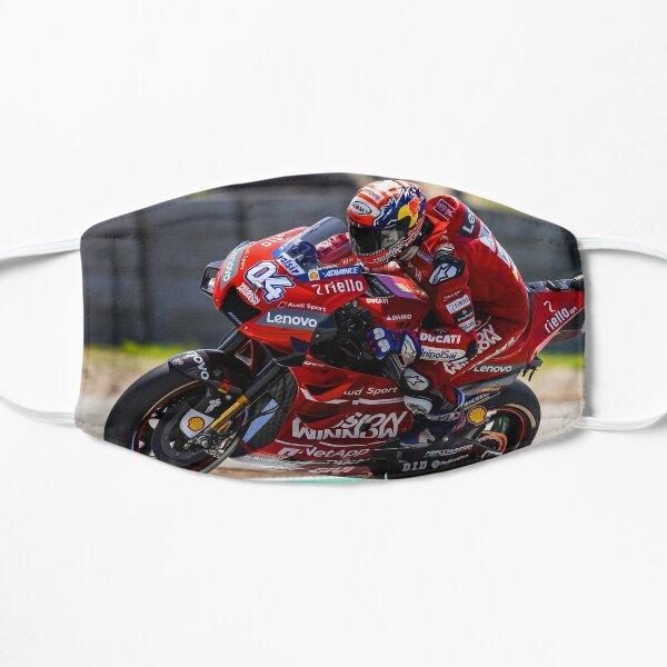 Andrea Dovizioso accelerating hard and making a wheelie Mask