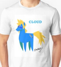 Cloud - BBBFF Version (FFVII & MLP) Unisex T-Shirt