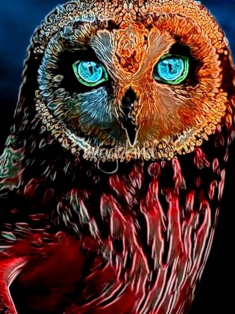 BRIGHT OWL by michaeltodd