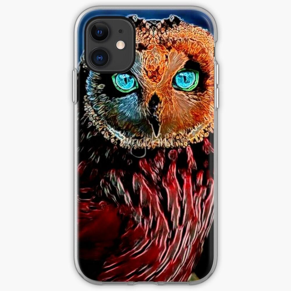BRIGHT OWL iPhone Case & Cover