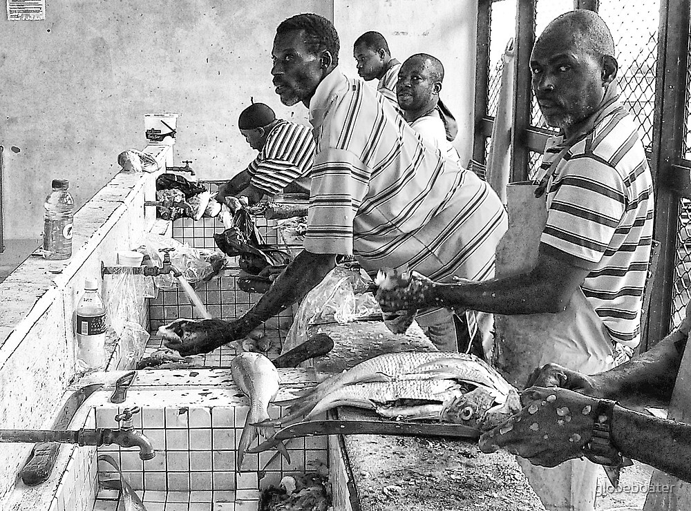 Fish Market by globeboater
