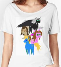 FFVII Cast (In BBBFF Version Of MLP) Women's Relaxed Fit T-Shirt