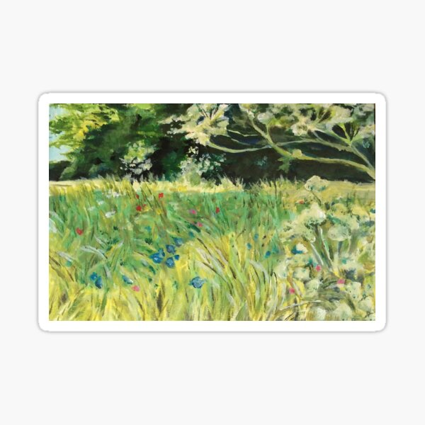 meadow flowers Sticker