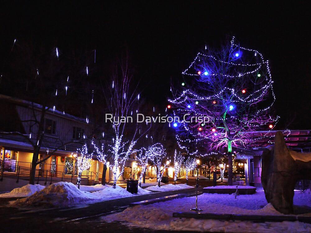 Nighttime in Aspen by Ryan Davison Crisp