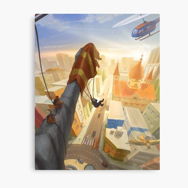 Parachute Pandemonium Metal Print