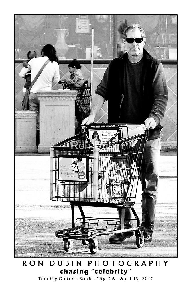 Timothy Dalton - License to Shop by Ron Dubin