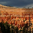Bryce w/ weather by Bob Moore