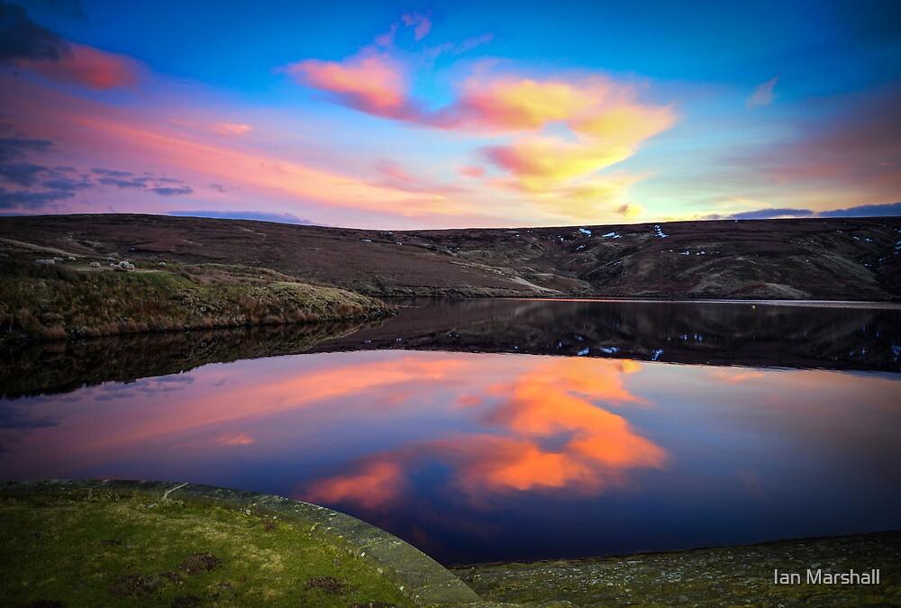 Marsden Moor Sunset by Ian Marshall