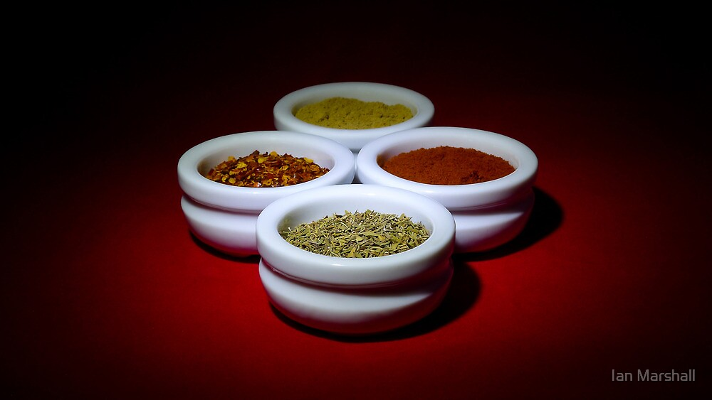 Herbs & Spices by Ian Marshall
