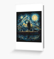 Starry Fall (Sherlock) Greeting Card