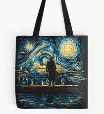 Starry Fall (Sherlock) Tote Bag