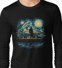 Starry Fall (Sherlock) Long Sleeve T-Shirt