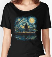 Starry Fall (Sherlock) Women's Relaxed Fit T-Shirt