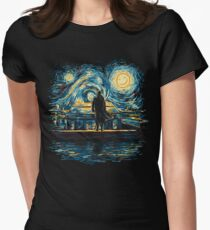 Starry Fall (Sherlock) Women's Fitted T-Shirt
