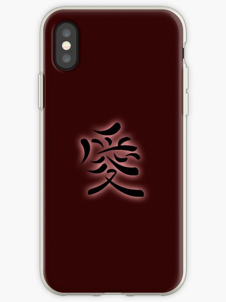 Love, japanese symbol by selllena1