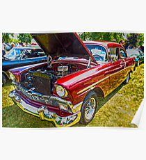56 Chevy Classic Poster