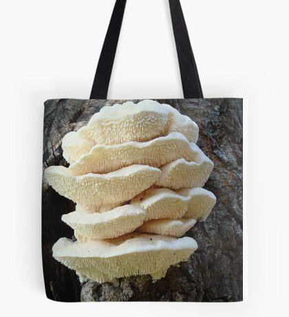 LOOKS LIKE COOKIES - A NEW SHELF FUNGUS FOR ME! Tote Bag