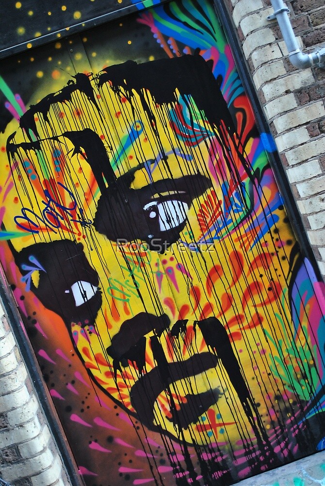 Face on the Wall  by RooStreetz