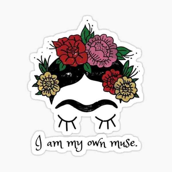 Erotic Muse- Frida Khalo Sticker