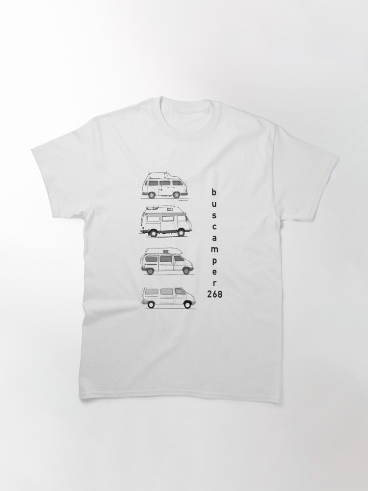 Alternate view of Just the campervans Classic T-Shirt