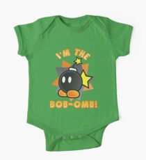 I'm the Bob-omb! Super Mario One Piece - Short Sleeve