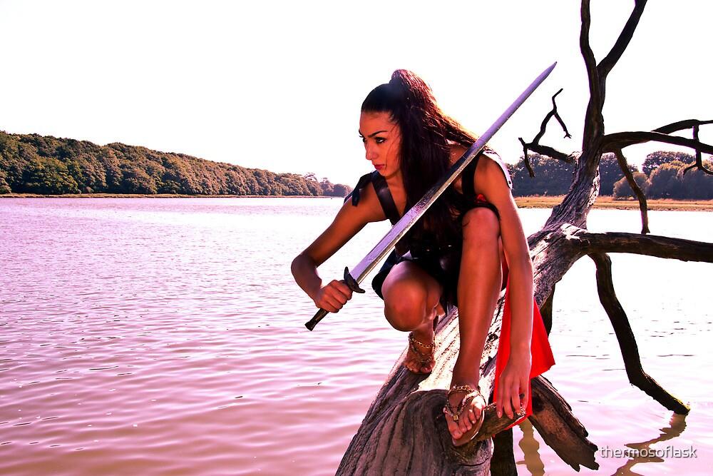 Elesha Eden warrior princess by thermosoflask