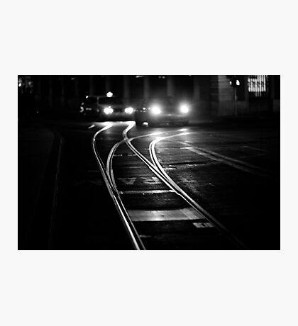 the lines of night Photographic Print