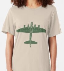 Boeing B-17 Flying Fortress Slim Fit T-Shirt