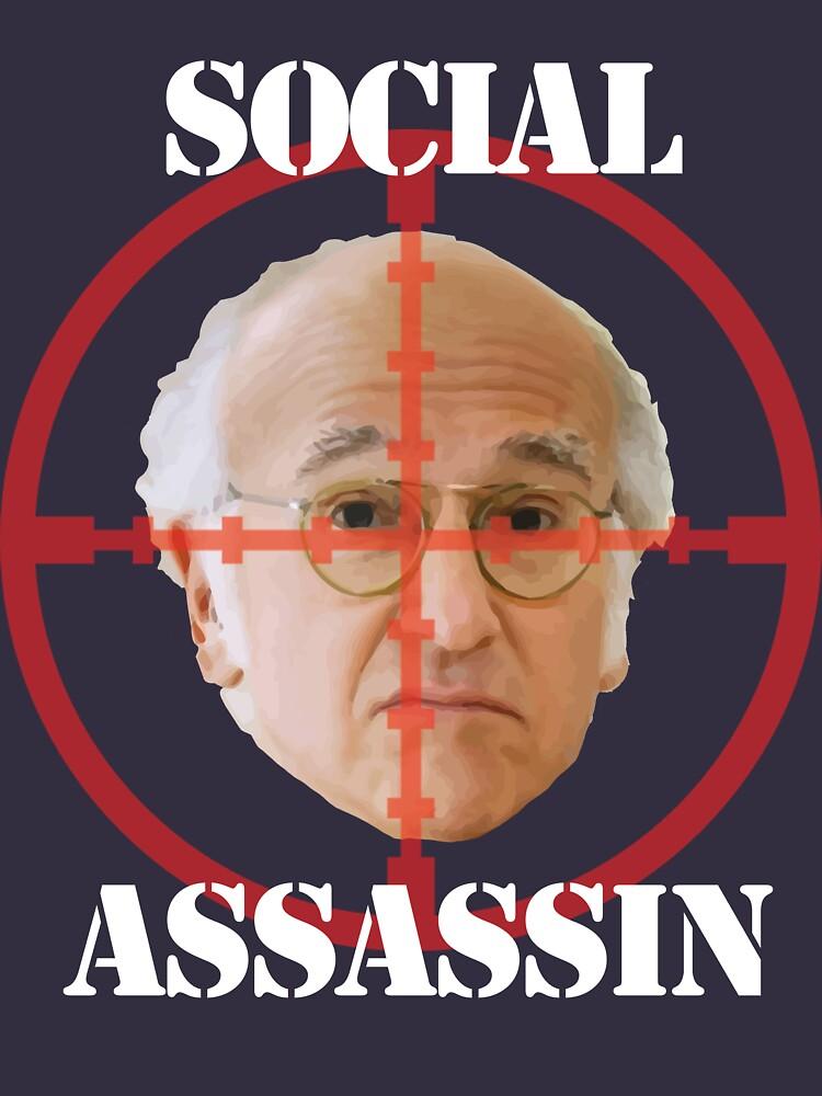 Social Assassin ( Curb Your Enthusiasm ) | Unisex T-Shirt