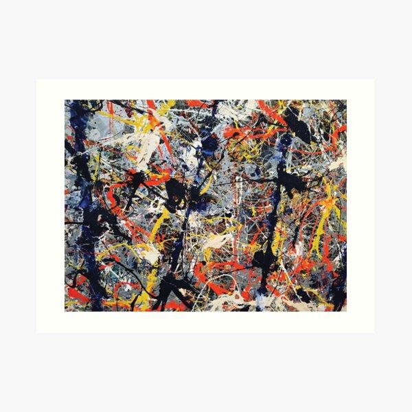 Jackson Pollack - Blue Poles Art Print