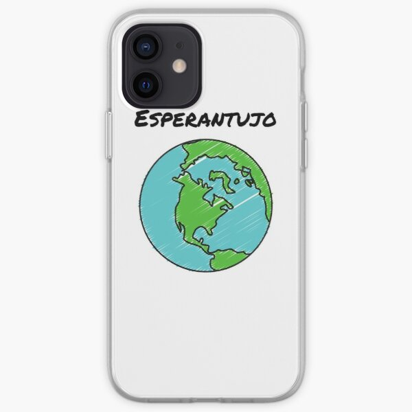 Esperantujo iPhone Soft Case