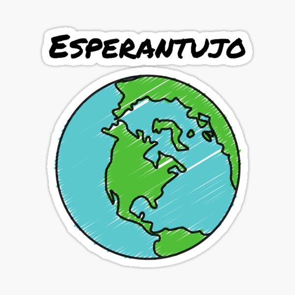 Esperantujo Sticker
