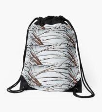 First Snowfall #2 Drawstring Bag