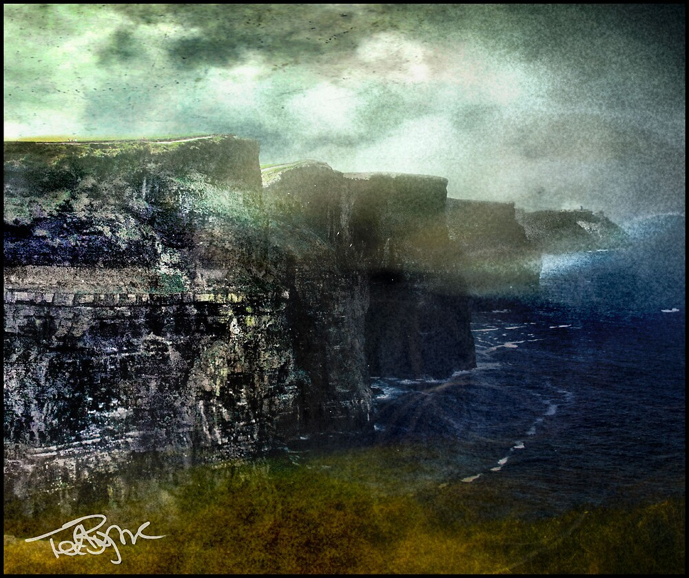 Cliffs, Crags, Prows by Ted Byrne