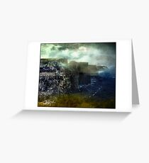 Cliffs, Crags, Prows Greeting Card