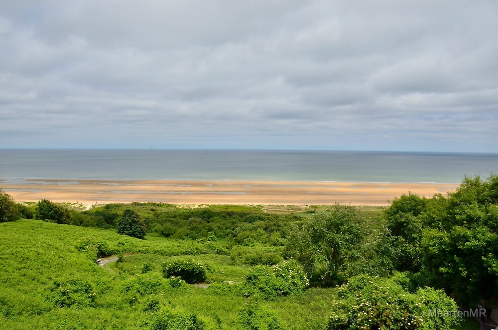 View on Omaha Beach by MaartenMR