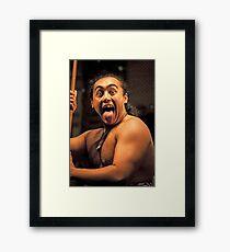 I Am Maori !! Framed Print