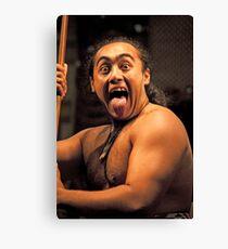 I Am Maori !! Canvas Print