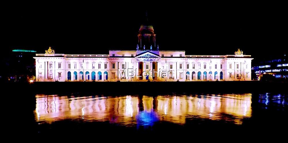 Dublin at night by MBLothian